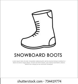 Boots Outline Images, Stock Photos \u0026 Vectors
