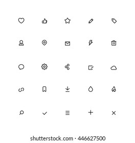 Outline User Interface Icons Browser Ui Internet Icon Misc