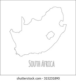 Africa Map Blank Images Stock Photos Vectors Shutterstock