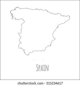 Map Of Spain Blank.Spain Blank Map Images Stock Photos Vectors Shutterstock