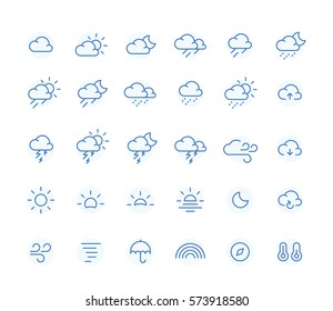 Outline Weather Icon