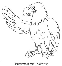 Eagle Coloring Page Images, Stock Photos & Vectors ...