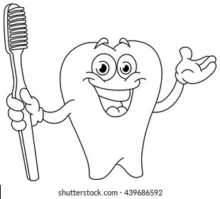 Dental Coloring Pages Images Stock Photos Vectors