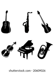 Outlines of Various Instruments