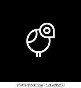 Outstanding Creative Minimalist Line Art Chicken Icon   Minimal Chicken Logo Design