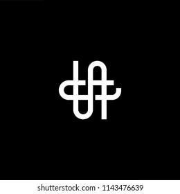 Outstanding professional elegant trendy awesome artistic black and white color NG GN initial based Alphabet icon logo.