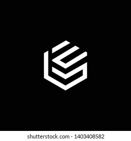 Outstanding professional elegant trendy awesome artistic black and white color BE EB initial based Alphabet icon logo.