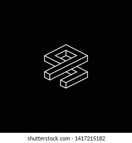 Outstanding professional elegant trendy awesome artistic black and white color ZQ QZ ZP PZ initial based Alphabet icon logo.