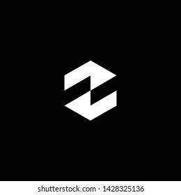 Outstanding professional elegant trendy awesome artistic black and white color N SS NS SN initial based Alphabet icon logo.
