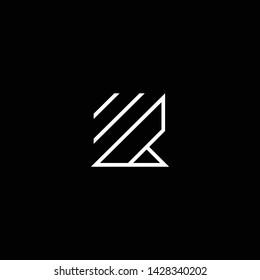 Outstanding professional elegant trendy awesome artistic black and white color K KK EK KE initial based Alphabet icon logo.