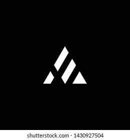 Outstanding professional elegant trendy awesome artistic black and white color AE EA initial based Alphabet icon logo.