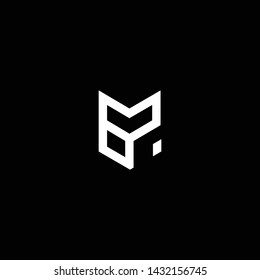 Outstanding professional elegant trendy awesome artistic black and white color ER RE GR RG initial based Alphabet icon logo.