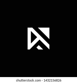 Outstanding professional elegant trendy awesome artistic black and white color W WD DW  initial based Alphabet icon logo.
