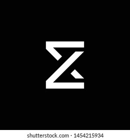 Outstanding professional elegant trendy awesome artistic black and white color EX XE initial based Alphabet icon logo.
