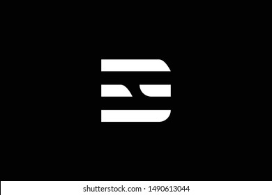 Outstanding professional elegant trendy awesome artistic black and white color CH HC DH HD initial based Alphabet icon logo.