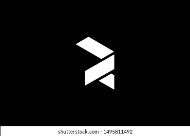 Outstanding professional elegant trendy awesome artistic black and white color R DR RD initial based Alphabet icon logo.