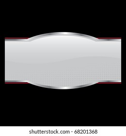 An oval shaped product sticker or packaging label for use on a box or bottle in vector format.