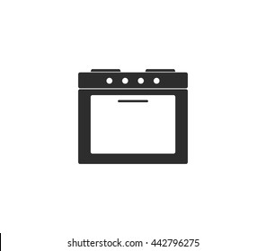 Oven icon.  oven vector