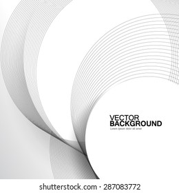 Overlapping Circles Clean Design Background