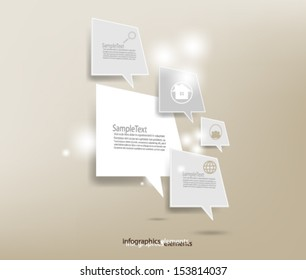 Overlapping Elements Speech Background