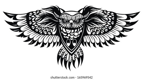 1000 Owl Tattoo Stock Images Photos Vectors Shutterstock