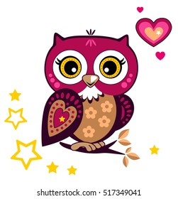 Ornament Owl Images Stock Photos Vectors Shutterstock