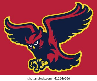 Owl bird Flying
