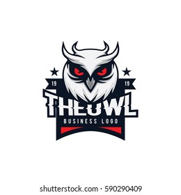 The Owl Business Logo Vector