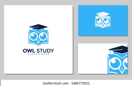 OWL EDUCATION VECTOR,Owl education logo. Graduation, teacher, student, studying illustration. Educational center logo. Owl - the symbol of wisdom and knowledge. Graduation symbol. Teacher image. Stude