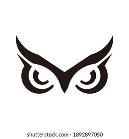 Owl Eye Logo Design Template
