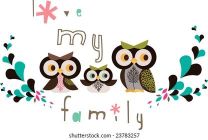 the owl family