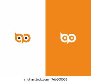 owl logo, bp logo, eyes logo, bird logo
