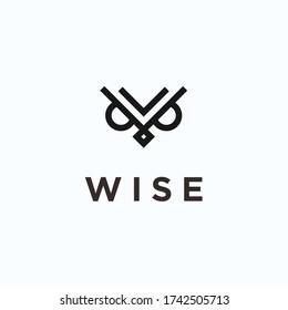 owl logo / owl icon