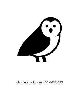 Owl logo. Icon design. Template elements