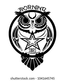 owl logo strong and cool