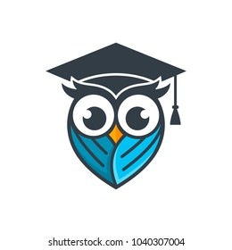 Owl Logo Vector Template Stock Vector