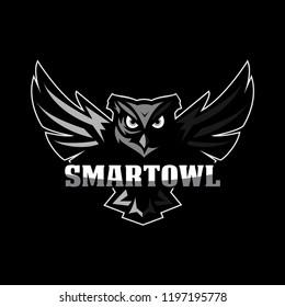 OWL mascot logo esport