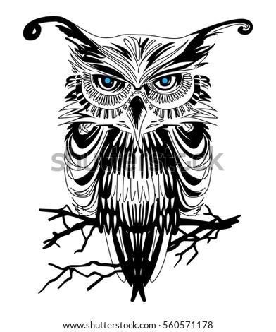 Owl Vector Art Unlimited Clipart Design