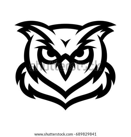 Owl Vector Logo Icon Mascot Illustration Stock Vector ...