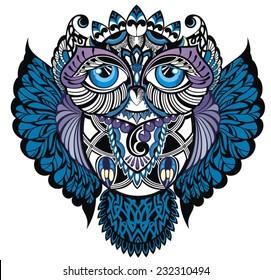Owl.Decorative bird