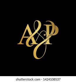 A & P / AP logo initial vector mark