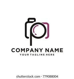 P camera logo