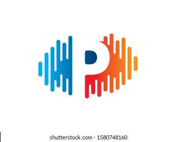 P Letter logo or symbol template design