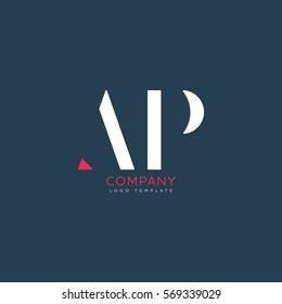 A P logo design for Corporate
