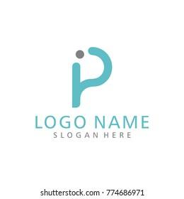 P Logo Vector P E Logo Vector P I E Logo Vector