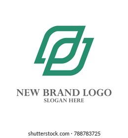 P Logo Vector. P, I, E, S, N, Q, O, R, C, B, L, F, U, V Logo Vector