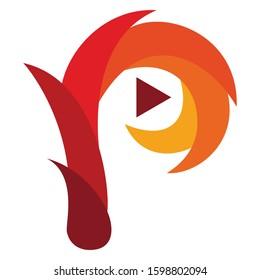 P Modern Vector Logo Design
