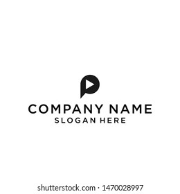p play logo / p logo