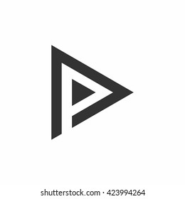 p play logo
