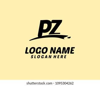 P Z Initial logo